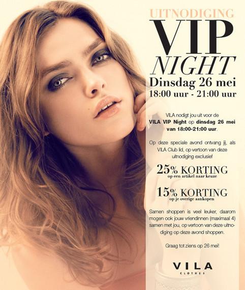 Vila uitnodiging