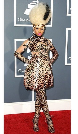 Nicki Minaj @ Grammy's 2011