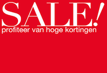 It's sale time!