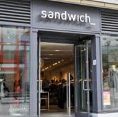 sandwich kleding winkels
